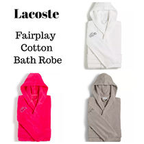 SALE【LACOSTE】ラコステ Fairplay Cotton Bath Robe バスローブ