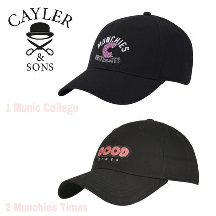 SALE★Wl Mumic Co/Munchis T Curved Cap【送込Cayler&Sons】黒