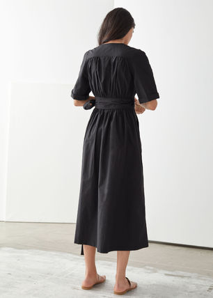 & Other Stories ワンピース & Other Stories☆Voluminous Wrap Midi Dress(3)
