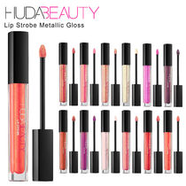 【HUDA BEAUTY】Lip Strobe Metallic Gloss メタリックグロス☆