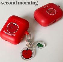 """""""second morning"""" airpods or airpods pro case & kyering set"""