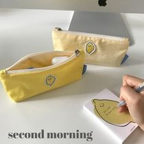 """second morning"" pen case  韓国 デザイン 送料無料"