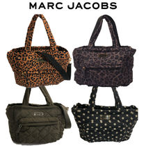 Marc Jacobs◆QUILTED NYLON TOTE マザーズバッグ レオパード