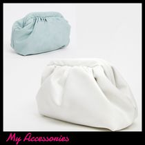 ★My Accessories★全2色 ふかふかクラッチバック 関税送料込