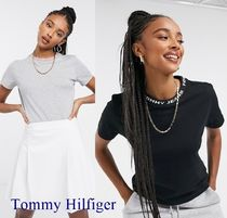 ★Tommy Hilfiger★Tommy Jeans  ブランドネック Tシャツ 送料込