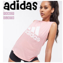 adidas■Must Have Badge of Sports タンクトップ ピンク