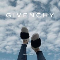 Givenchy Urban Street Mink Fur Sneakers