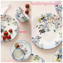 最安値関税込☆Anthropologie☆ Gardenshire Dinner Plates 4set
