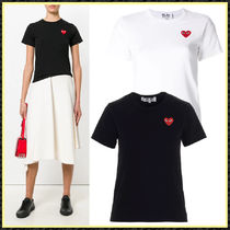 関送込/国内発【PLAY COMME des GARCONS】Heart patch Tシャツ