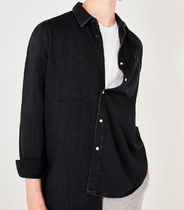 "American Vintage(アメリカンヴィンテージ) シャツ ""American Vintage"" MEN'S SHIRT RONISTATE BLACK"