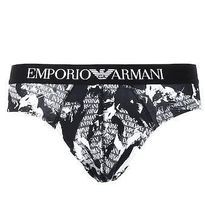 ★送料・関税込み★EMPORIO ARMANI BRIEF- ALL OVERCAMOショーツ