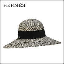 【20AW新作】HERMES ハット《アヌーク》 ストローハット