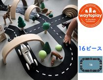 ☆Way to play☆ とっても楽しい道路16ピースセット ゴム製♪