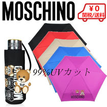 【Moschino】SuperMini Scribble Bear Umbrella w/Bear Charm