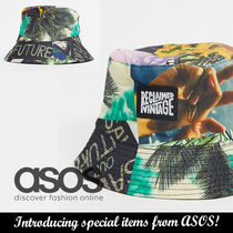 ASOS Reclaimed Vintage patchworkデザインバケットハット