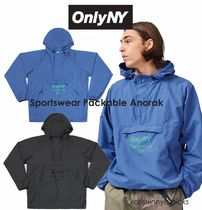 NY 発信* ONLY NY*Sportswear Packable Anorak ジャケット