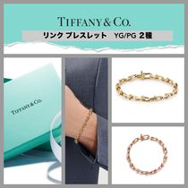 【Tiffany&Co.】Link Bracelet 18K Pink/Yellow Gold