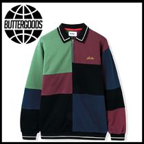 新作アイテム Butter Goods Patchwork Pullover Sweatshirt