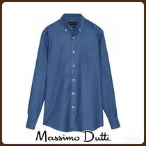 MassimoDutti♪DENIM SLIM FIT SHIRT
