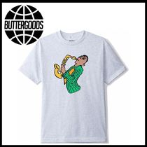 新作アイテム Butter Goods Sax Tee ash grey