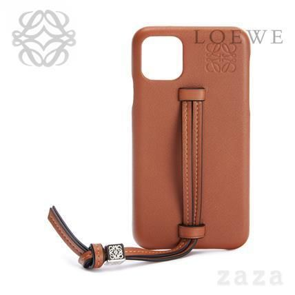 LOEWE★ロエベ Handle cover for iPhone 11 in classic calfskin