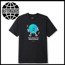 新作アイテム Butter Goods Go Round Tee black