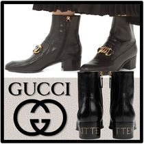 ★送料・関税込★GUCCI★HORSEBIT CHAIN BOOTS★ブーツ★