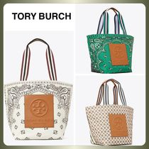 【Tory Burch】GRACIE REVERSIBLE PRINTED CANVAS TOTE BAG