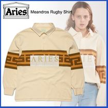 ARIES(アリーズ) ポロシャツ 20AW◇UK発◇LUXURYストリート◆ARIES◆Meandros Rugby Shir