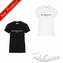 ★20AW★【GIVENCHY】Destroyed ロゴ Tシャツ