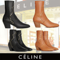 CELINE 新作 Cubaine Medium Boot in Calfskin