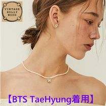 【BTS TaeHyung着用】Daisy Margaret Pearl Necklace
