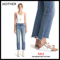 SALE 売り切れ間近 MOTHER マザー THE INSIDER CROP STEP FRAY