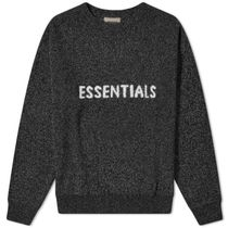 FEAR OF GOD ESSENTIALS Knit Sweater 2020 SS 20 BLACK GREY