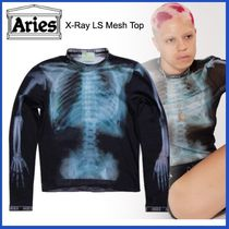 ARIES(アリーズ) Tシャツ・カットソー 20AW◇LUXURYストリート◆ARIES◆X-Ray LS Mesh Top