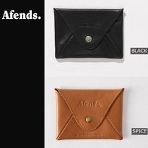 AFENDS(アフェンズ) コインケース・小銭入れ AFENDS日本未入荷☆Holdall Leather Pouch Wallet 全2色☆AUS発