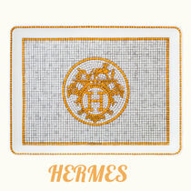 ★HERMES★ おしゃれトレイ Mosaique au 24 gold tray