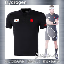 Hydrogen NATION CUP TECH SERAFINO JAPAN テニス ポロシャツ