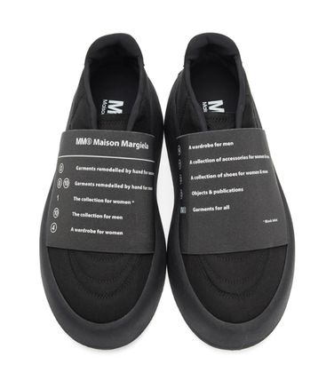 MM6 Maison Margiela スニーカー 新作*MM6 Maison Margiela*panel detail slip-on sneakers♪(6)