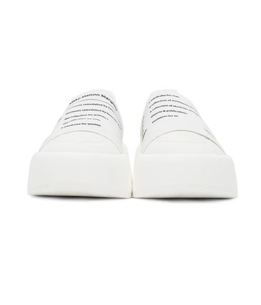 MM6 Maison Margiela スニーカー 新作*MM6 Maison Margiela*panel detail slip-on sneakers♪(8)