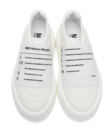MM6 Maison Margiela スニーカー 新作*MM6 Maison Margiela*panel detail slip-on sneakers♪(11)