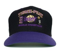 PURPLE【在庫あり】UNIFORM STUDIOS 6 PANEL LA LAKERS 3PT HAT