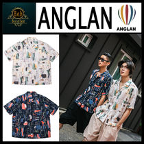 [ANGLAN]Multi Touch Pattern Half Shirts☆超人気☆日本未入荷