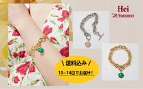 日本未入荷★Hei★'20 summer /gemstone toggle bracelet 2color