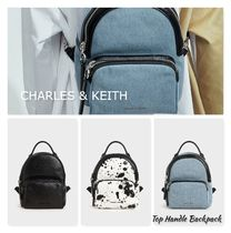 CHARLES & KEITH【Top Handle Backpack】追跡/送料込み