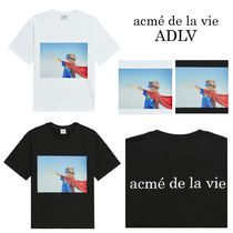 【acme' de la vie】BABY FACE SHORT SLEEVE T SUPERMAN★2色