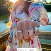 STEPHANIE GOTTLIEB(ステファニーゴットリブ) 指輪・リング NY発!Pave Jumbo Heart Ring【STEPHANIE GOTTLIEB】14K3色