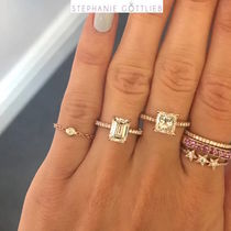 STEPHANIE GOTTLIEB(ステファニーゴットリブ) 指輪・リング NY発!Diamond Bezel Chain Ring【STEPHANIE GOTTLIEB】14K3色