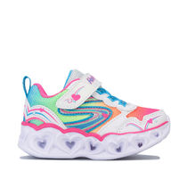 Girl's Skechers Infant Hearts Love Spark Trainers in White