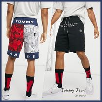 Tommy Jeans*AAPEコラボ*リバーシブルショーツ*送料込